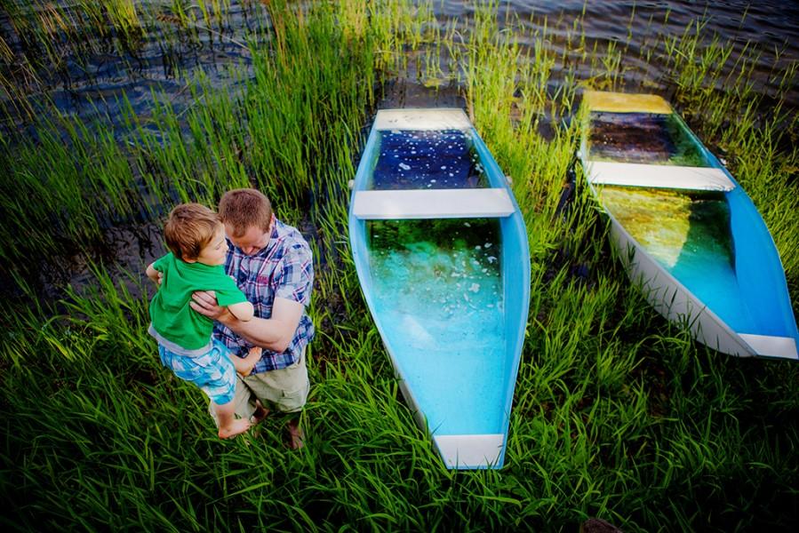 sesja plenerowa z chrztu